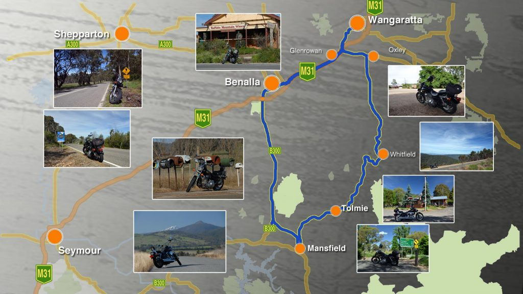 Ride through Ned Kelly and Harry Power's country